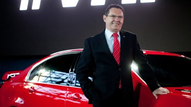 Chairman of Holden, Mark Bernhard.