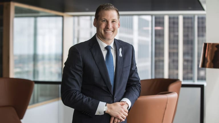 Westpac's David Lindberg says lending to small firms is booming, but many start-ups struggle for finance because banks require them to have property security or significant cash equity.