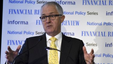 Malcolm Turnbull appears to have toughened his stance on changes to citizenship.