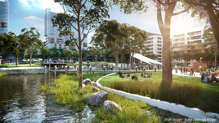 The $5 billion Melrose Park development will be a game-changer for Sydney.