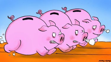How do you compare the performances of super funds? Illustration: John Shakespeare