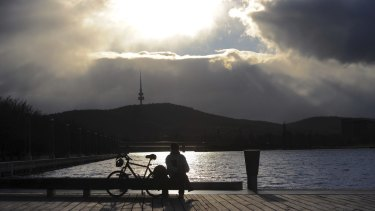 At risk? Canberra's Lake Burley Griffin.
