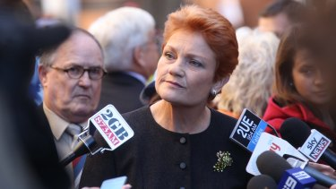 Pauline Hanson could be about to resume her political career in the Queensland seat of Lockyer.