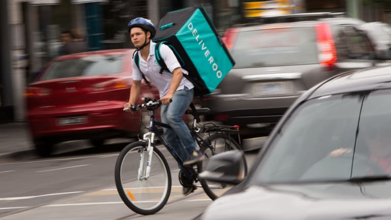 Food delivery companies like Deliveroo and Foodora face a legal challenge from cycle couriers over whether they should be classified as independent contractors.