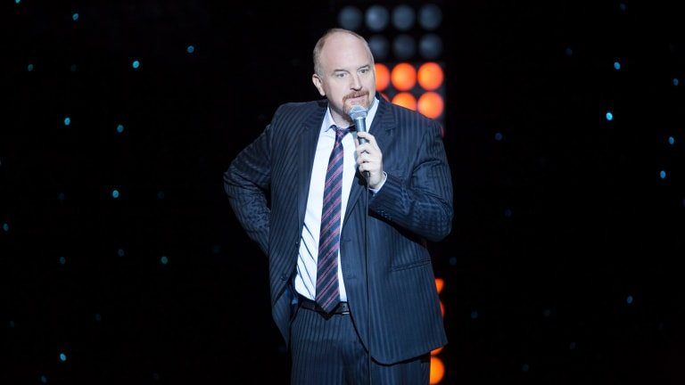 Comedian Louis CK, seen here in his recent Netflix special, is the latest Hollywood star accused of sexual misconduct.