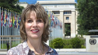 Australian Sarah Parkes is based in Geneva, where she works for the UN's International Telecommunication Union.
