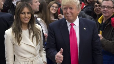 Donald Trump is very proud to claim that his wife Melania looks better than the wife of his Republican rival Ted Cruz.