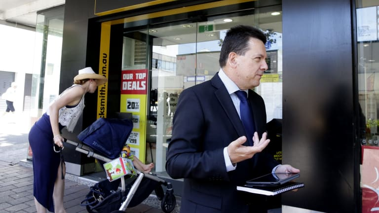 Nick Xenophon is one of Australia's best retail politicians.
