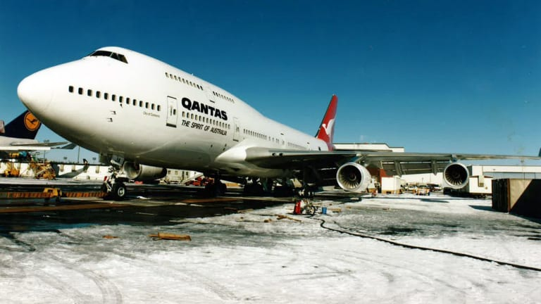 """Qantas is donating the aircraft, also known as """"City of Canberra"""" to the Historical Aircraft Restoration Society (HARS), as flagged by Fairfax Media earlier this month."""