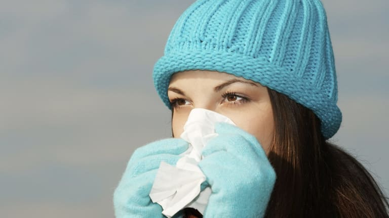 There has been a spike in emergency admissions for flu.