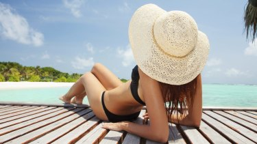 The wide-brimmed hat gets top marks for summer fashion.