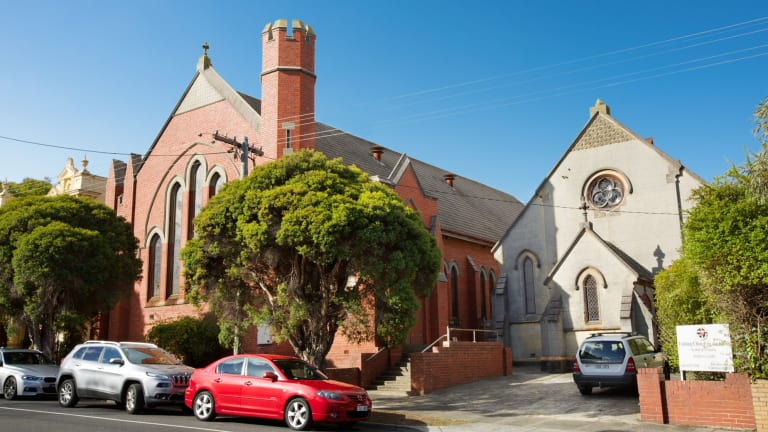 The Uniting Church of Australia hopes to reap $3 million from the sale of a disused church in Elsternwick.