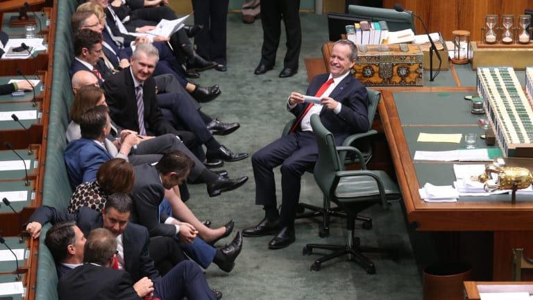 Opposition Leader Bill Shorten and the ALP vote to bring the small business budget measures be put to an immediate vote on Wednesday.
