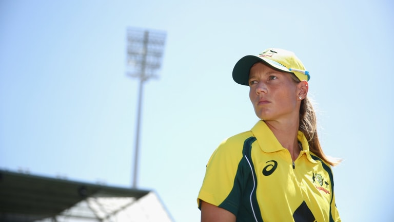Southern Stars captain Meg Lanning.