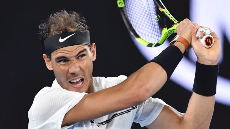 Rafael Nadal has sent his support to Andy Murray.