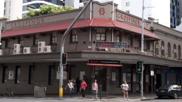 The Grosvenor is located on George Street in the Brisbane CBD.