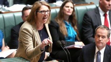 Opposition health spokeswoman Catherine King.