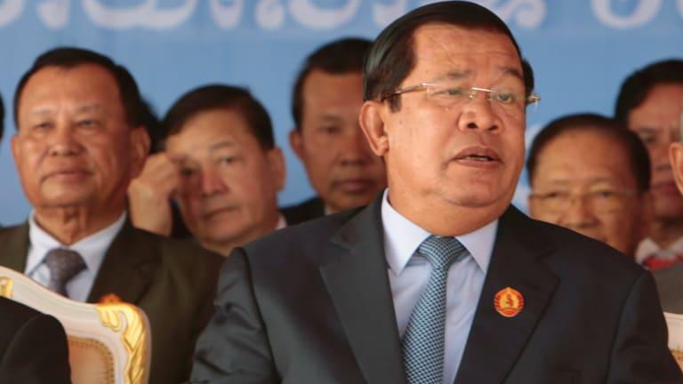 Cambodian Prime Minister Hun Sen in June.