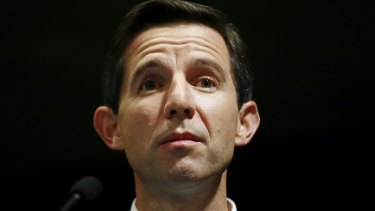 "Education Minister Simon Birmingham says the Catholic schools are pushing ""falsehoods"" about funding."