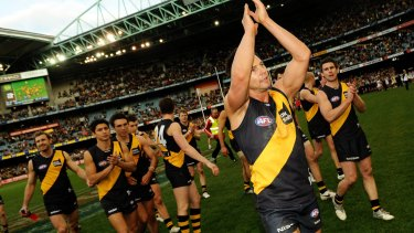 Ben Cousins played with Jake King for two seasons at Richmond.