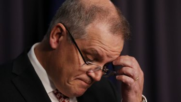 It's a tough job: Treasurer Scott Morrison.