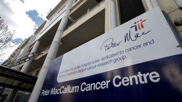 The Peter MacCallum Cancer Centre.