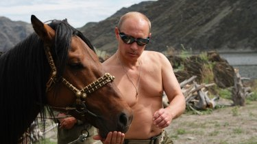 If Dangerous Dan and Tough-Guy Guy want to take off their shirts like Russian Prime Minister Vladimir Putin, they should quit horsing around.
