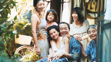 The home scenes in Shoplifters are raucous and full of laughter.