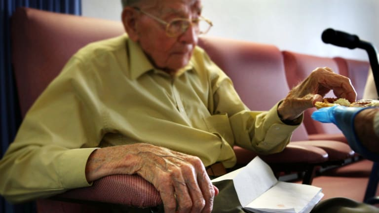 The amount someone will pay for aged care is capped.