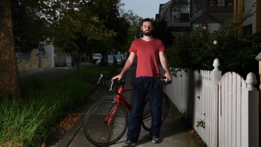 Doug Williams was a delivery rider for Deliveroo last year and has raised safety concerns about the start-up's operations.
