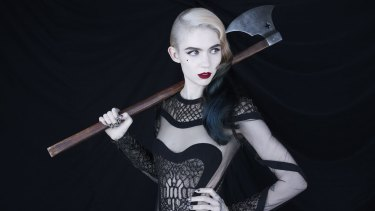 The multitalented Claire Boucher, aka Grimes, took contemporary pop music and put her own mark on it.