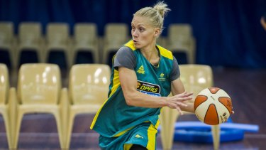 Skilful: Erin Phillips will be a key player for the Opals in Brazil.