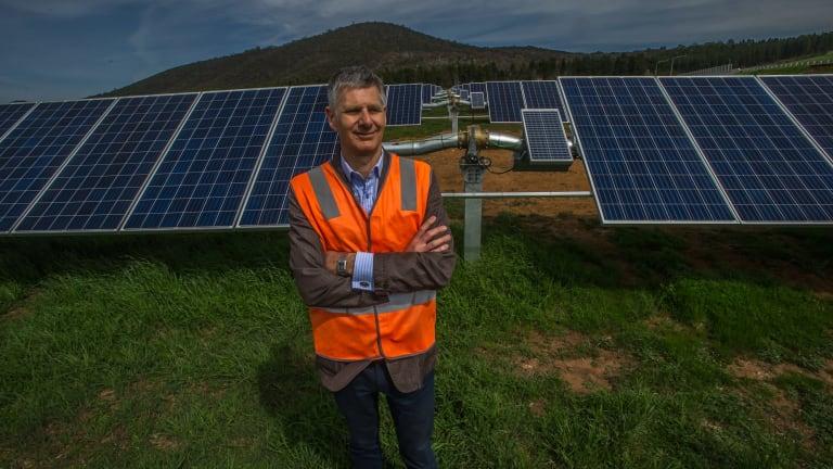Impact investment group head of renewable infrastructure Lane Crockett.