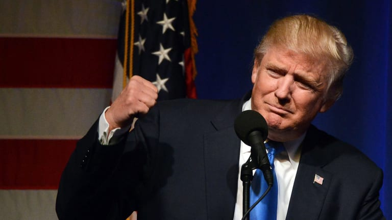 Right from the start financial market underestimated Donald Trump.