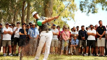 Thorbjorn Olesen won in front of healthy crowds but the Perth International needs to find a way to attract attention from non-golfing fans.