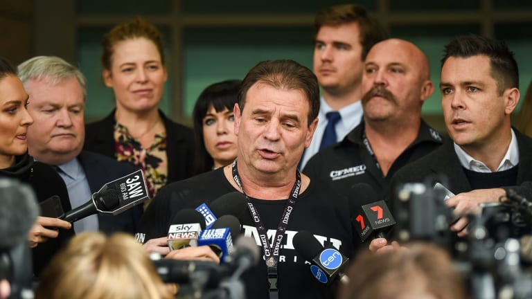 Construction, Forestry, Maritime, Mining and Energy Union Victorian secretary John Setka and his deputy Shaun Reardon have had their charges of blackmail dropped due to lack of police evidence.
