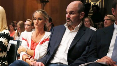 Former NFL football player Kevin Turner suffers from Lou Gehrig's disease from American football-related head injuries.