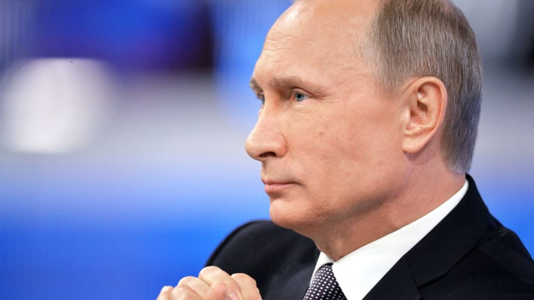 """Russian President Vladimir Putin: """"This is not the first political assassination. Ukraine is dealing with a whole string of such murders."""""""