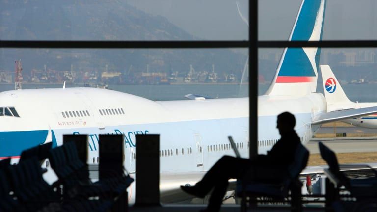 Cathay Pacific has hosed down chatter it was preparing to make Canberra one of its international destinations.