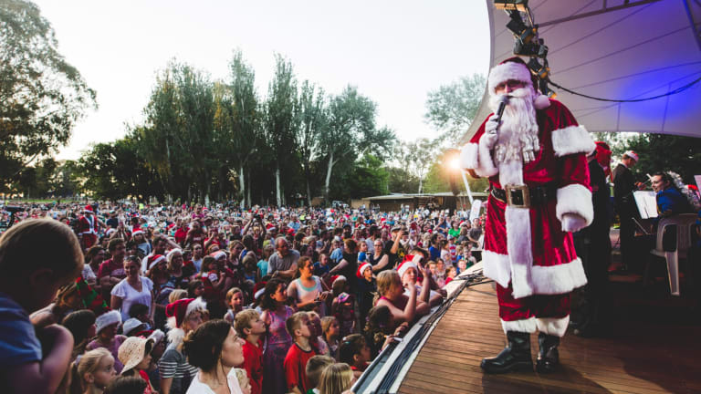 The 2017 Carols by Candlelight at Stage 88.