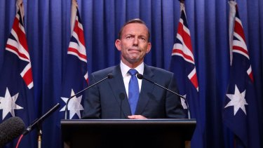 Former prime minister Tony Abbott could command more than $40,000 per international speaking engagement.