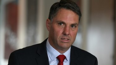 Labor's immigration spokesman Richard Marles.
