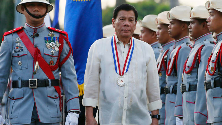 Philippine fishermen say they are dumping bodies in Duterte's 'war on drugs'