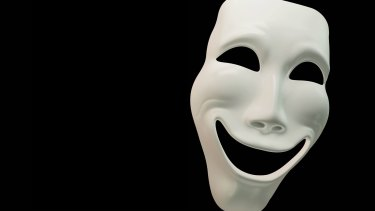 Too many men conceal their true feelings behind a mask of apparent invincibility.