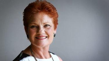 No problem with Putin: One Nation leader Pauline Hanson.