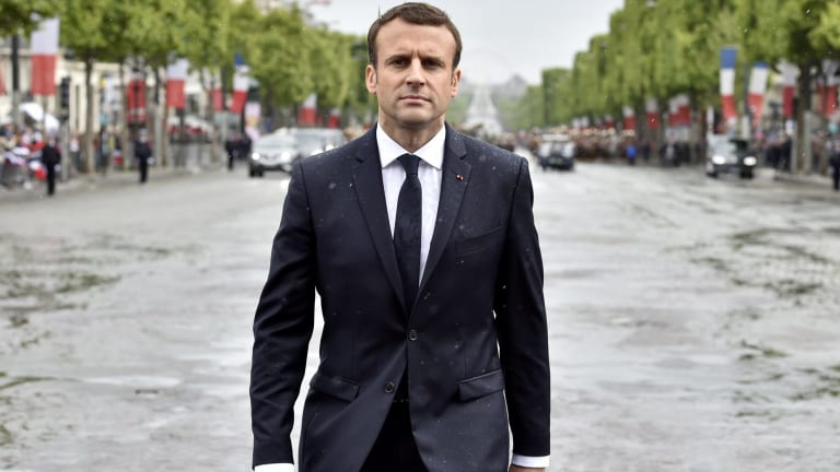 France's new President Emmanuel Macron.