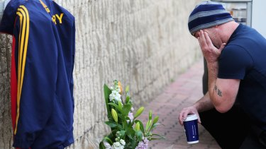 Devastated fans gathered at AAMI Stadium to pay tribute.