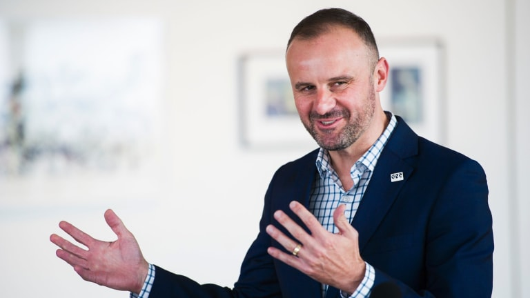 ACT Chief Minister Andrew Barr offered Opposition MLA Jeremy Hanson to 'take it outside' during committee hearings.