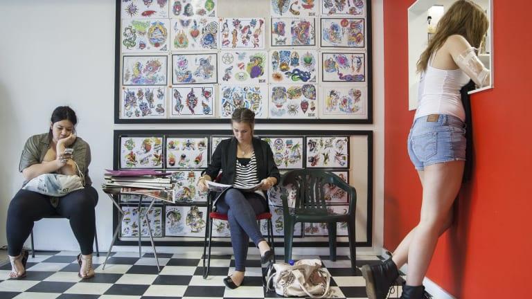 Choices: The tattoo parlour.