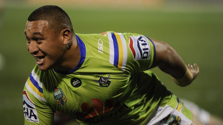 Raiders forward Josh Papalii has been ruled out of the PM's XIII train-on squad for this month's game against PNG.